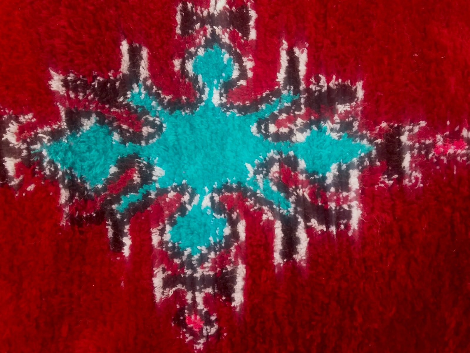 Hanbal rug  Colored Morocco