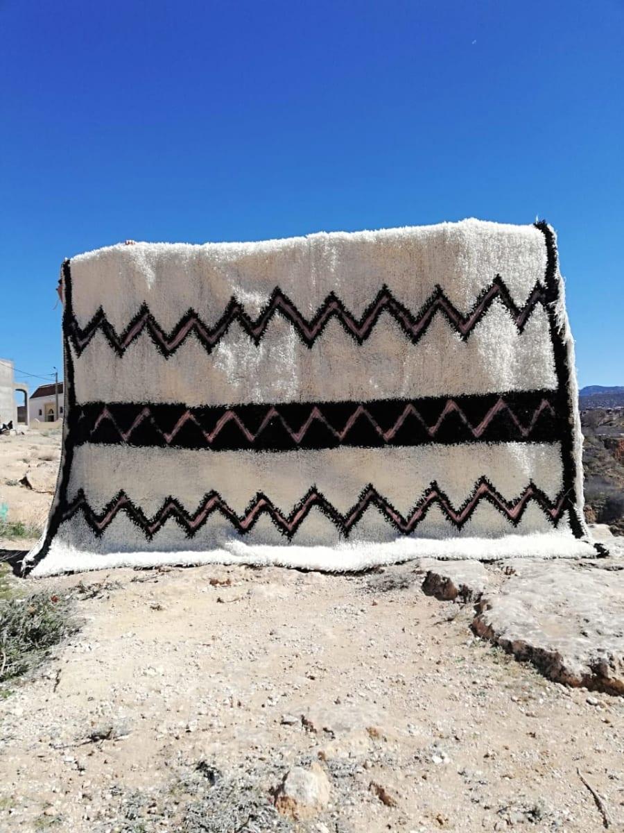 Beni Ourain  Pink, Black Morocco