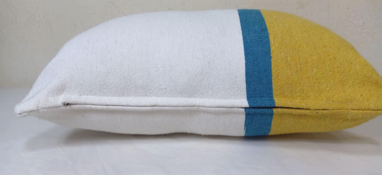 pillow  Blue, Yellow Morocco