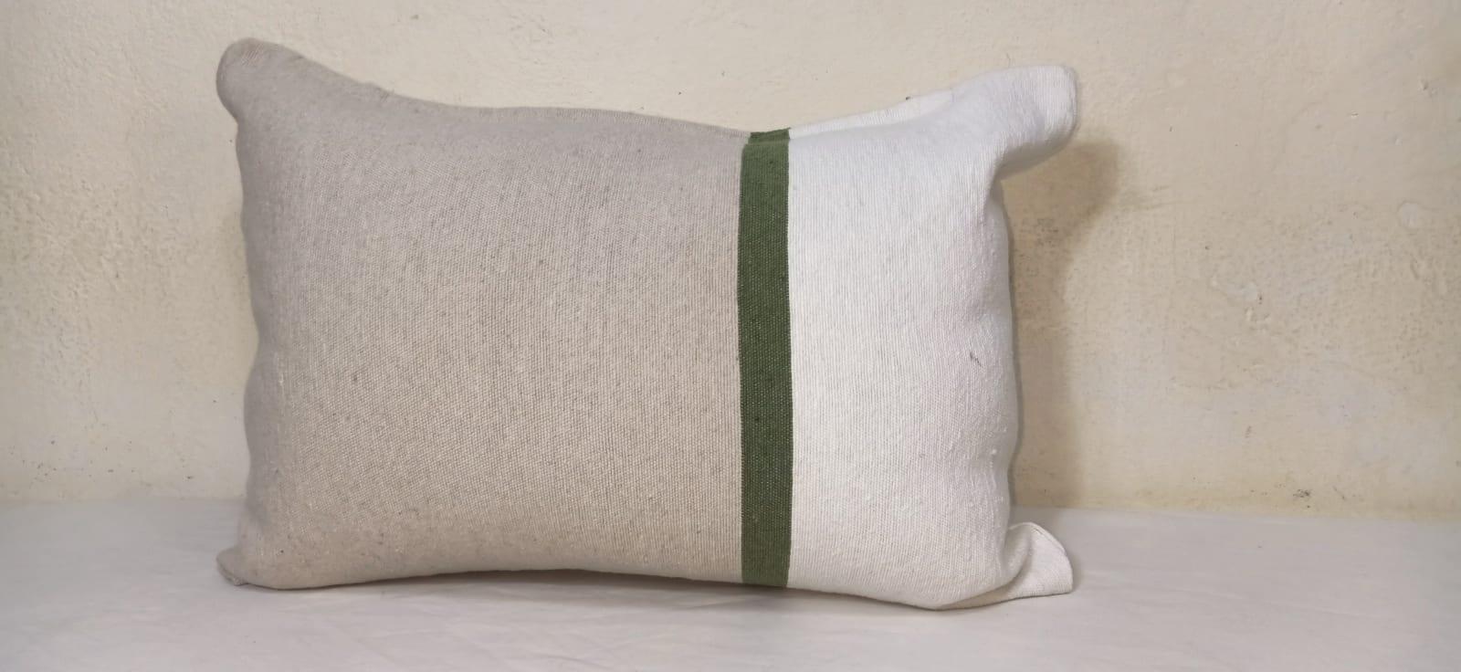 pillow  Green, Brown Morocco