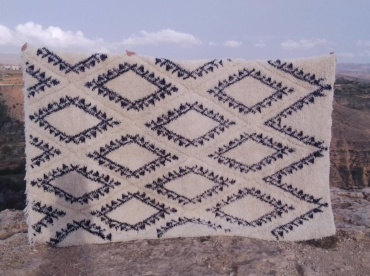 Beni Ourain  Brown, Grey Morocco