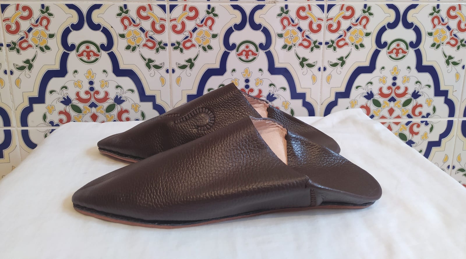 Leather Clutch    Morocco