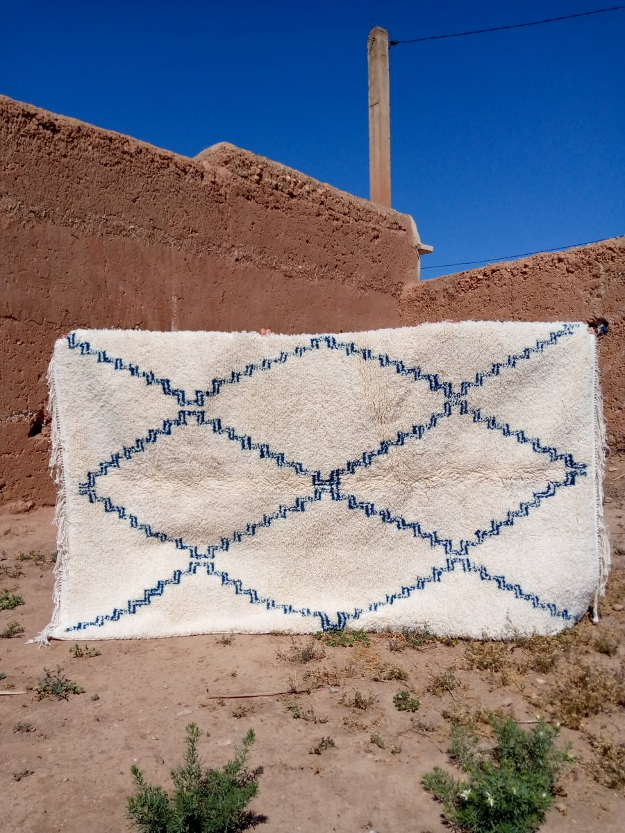 None  Blue, White Morocco