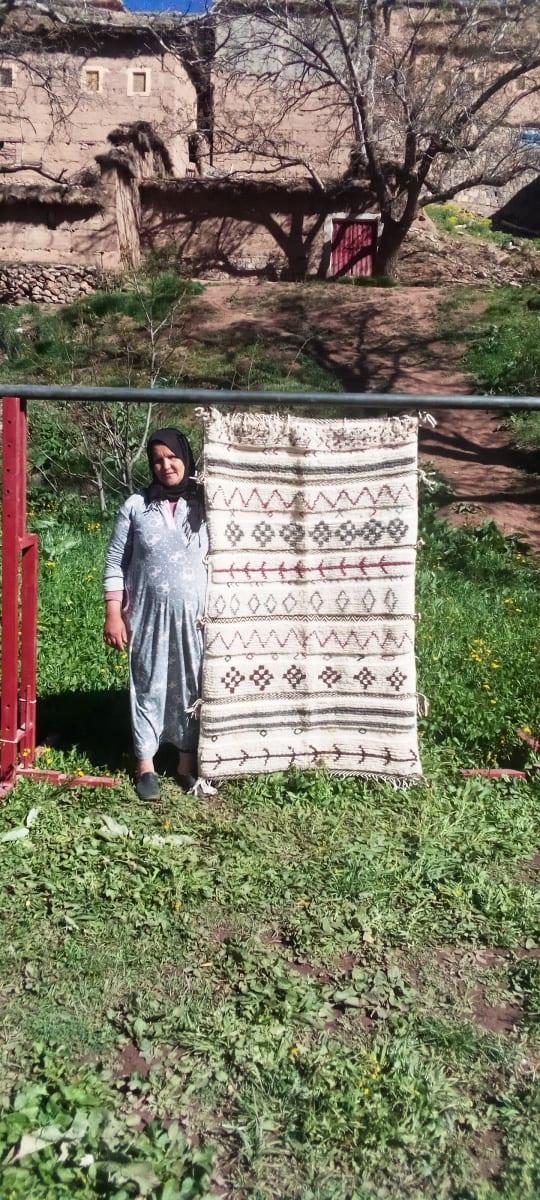 Beni Ourain Rug   Morocco