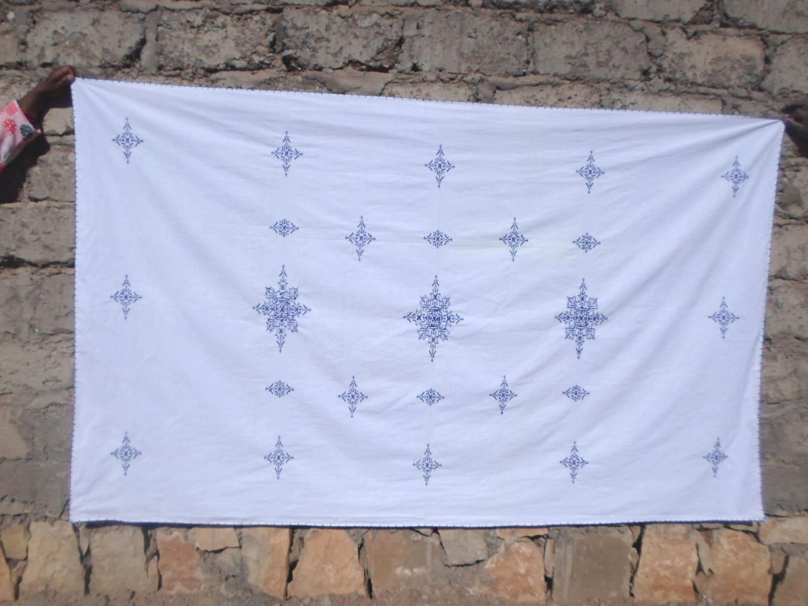 Tarz Fassi Assorted Yarns Blue Morocco
