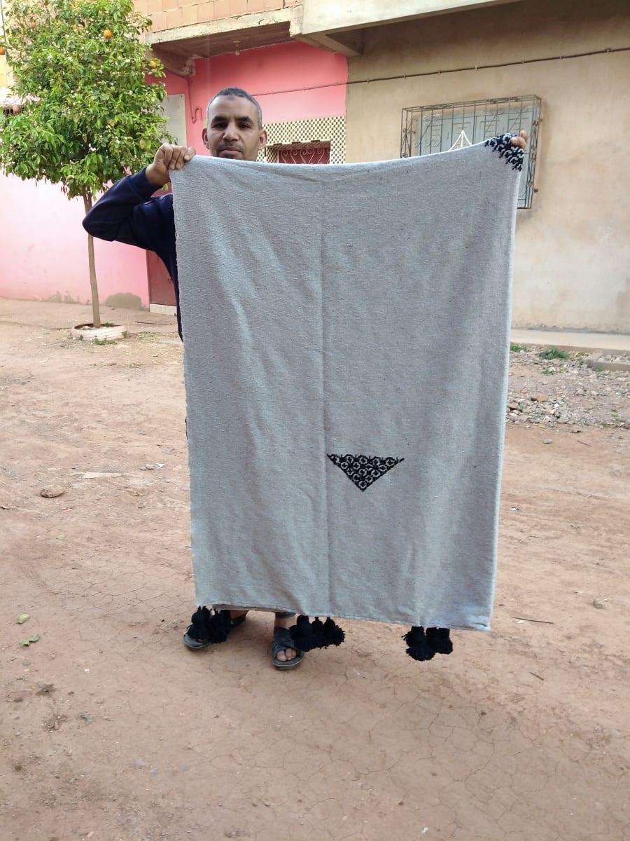 None  Grey, Black Morocco