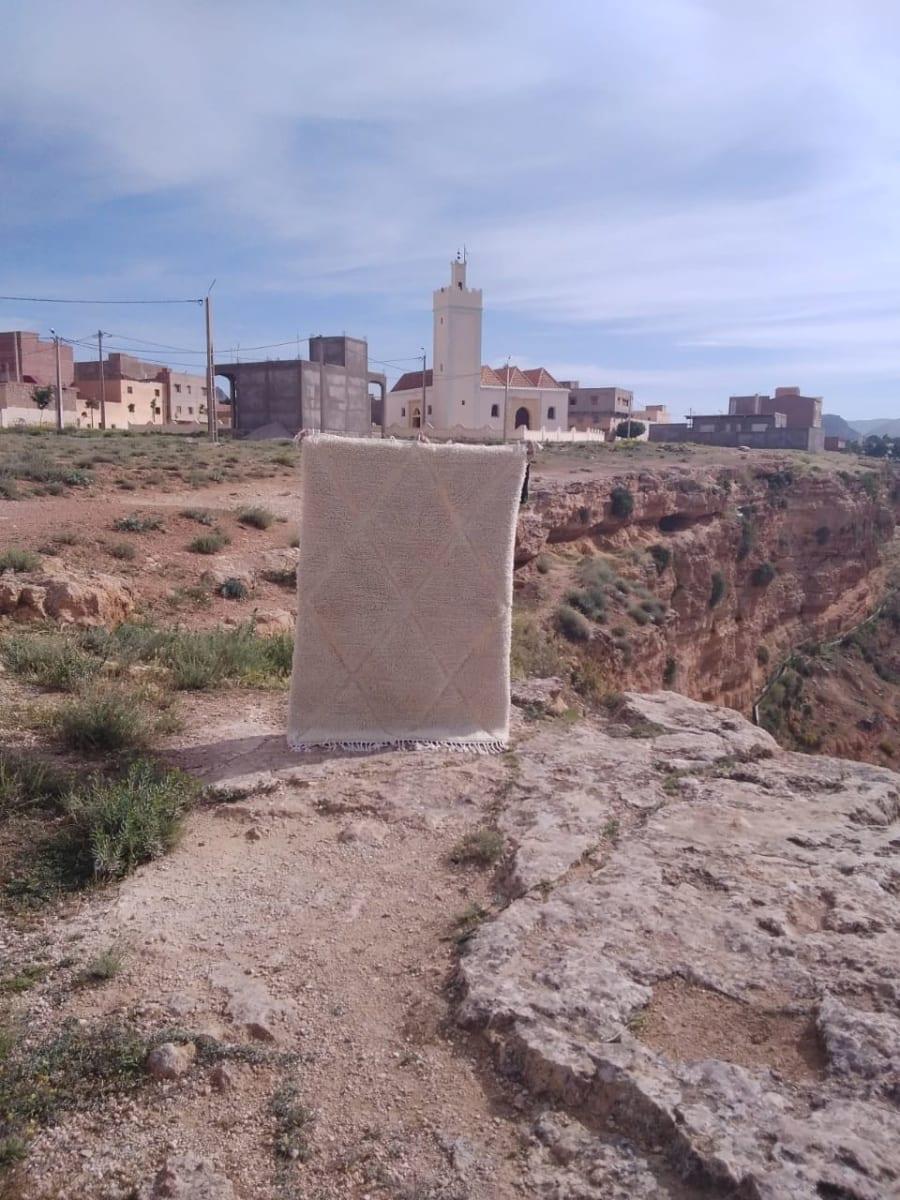 Beni Ourain  White Morocco