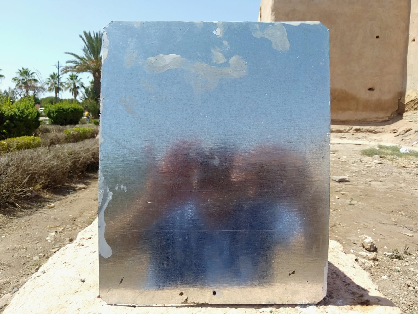 Metal Painting Water-Based Paint Colored Morocco