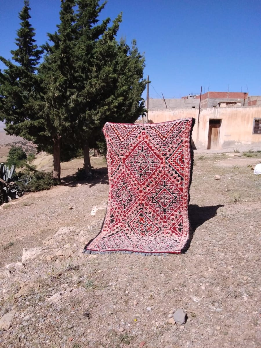 Marmoucha Rug  Colored Morocco