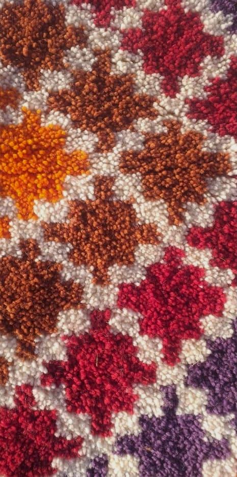 Rug  Colored Morocco