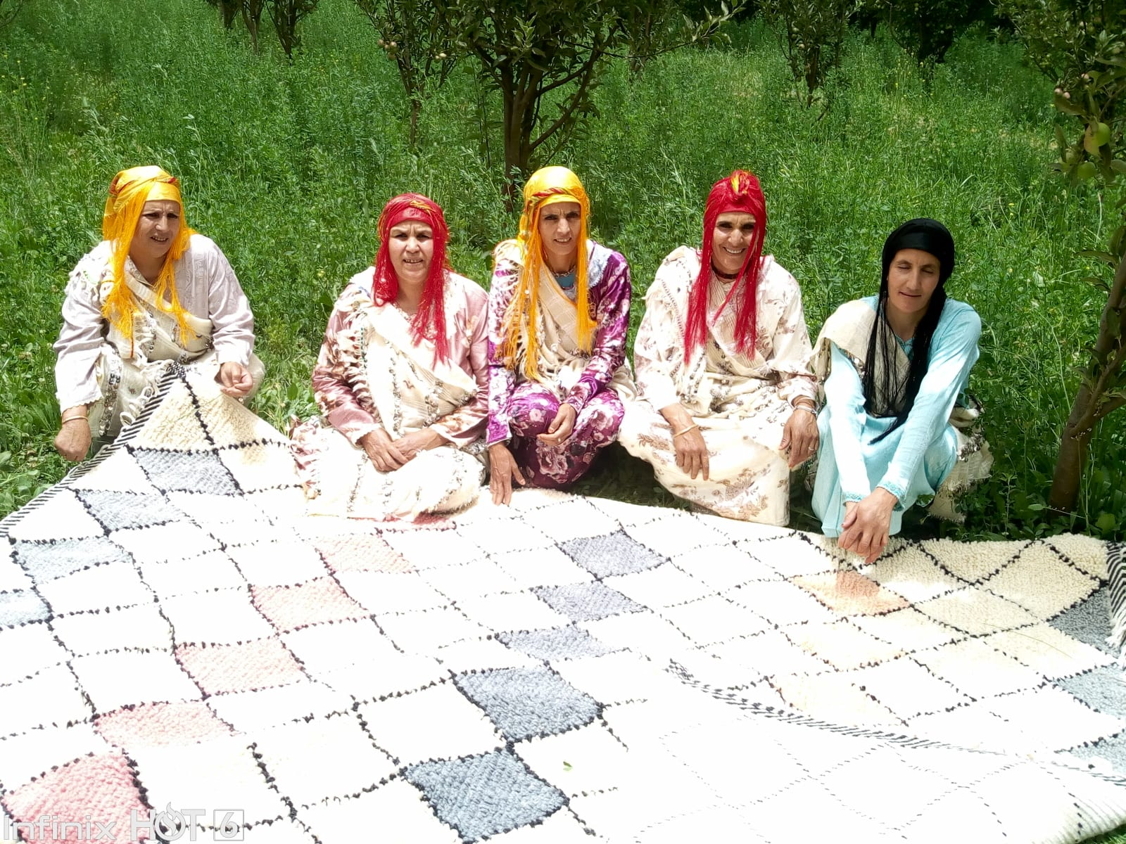 Beni Ourain  Colored Morocco