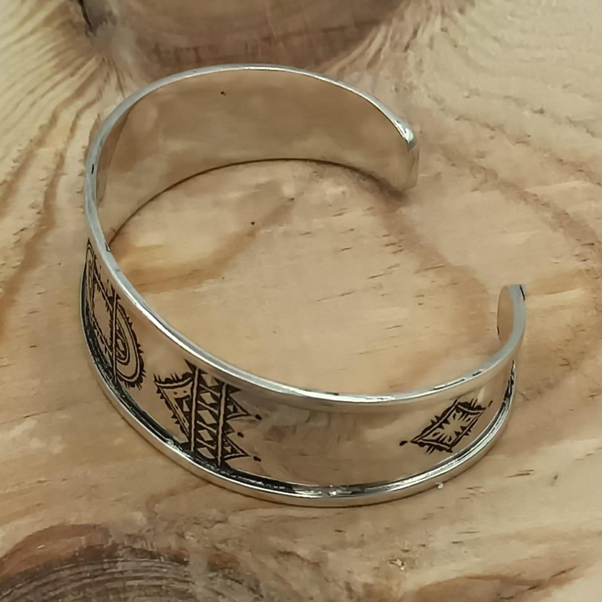 Bracelet  Black, White Morocco