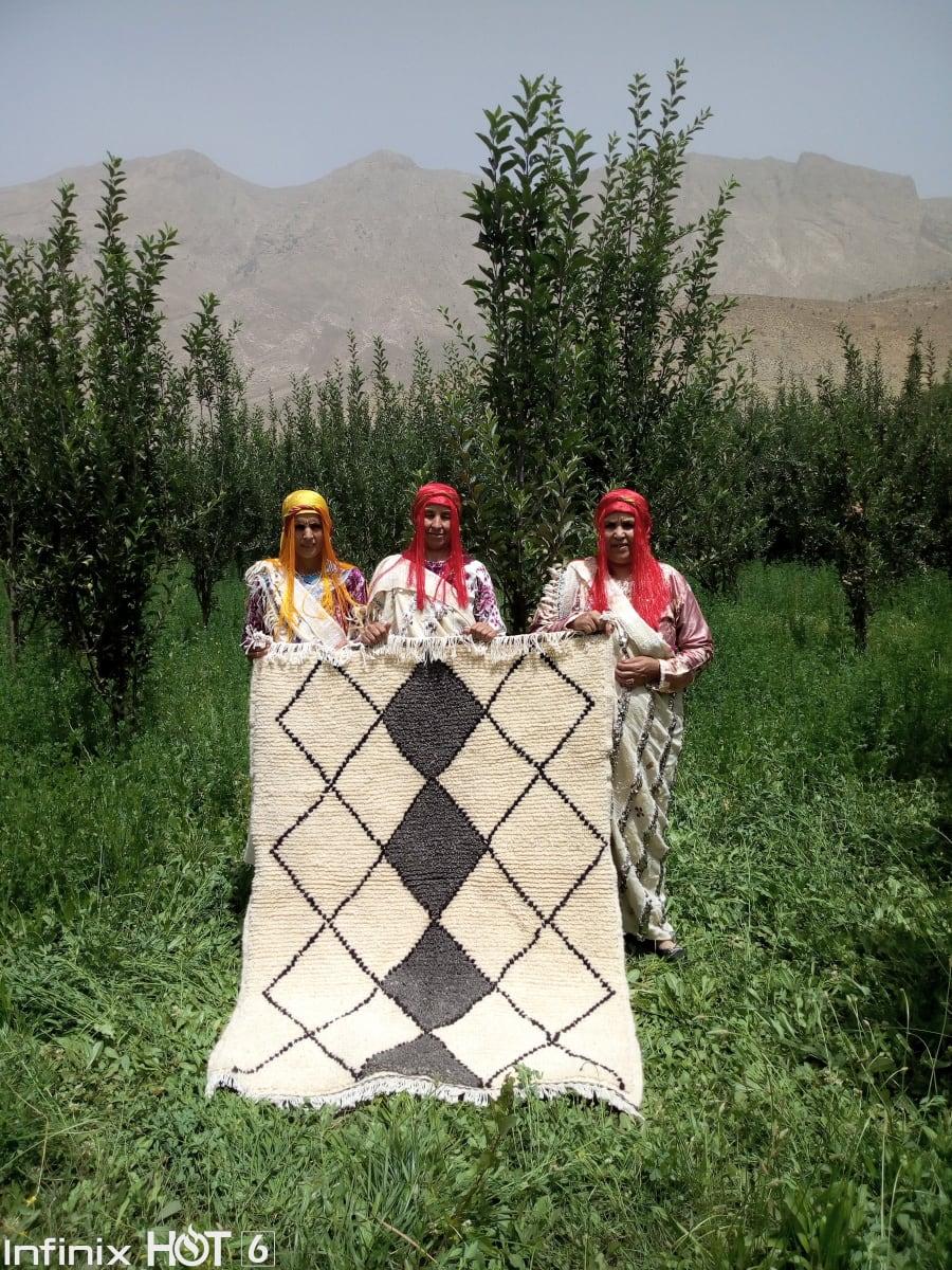 Beni Ourain  Grey, Black Morocco