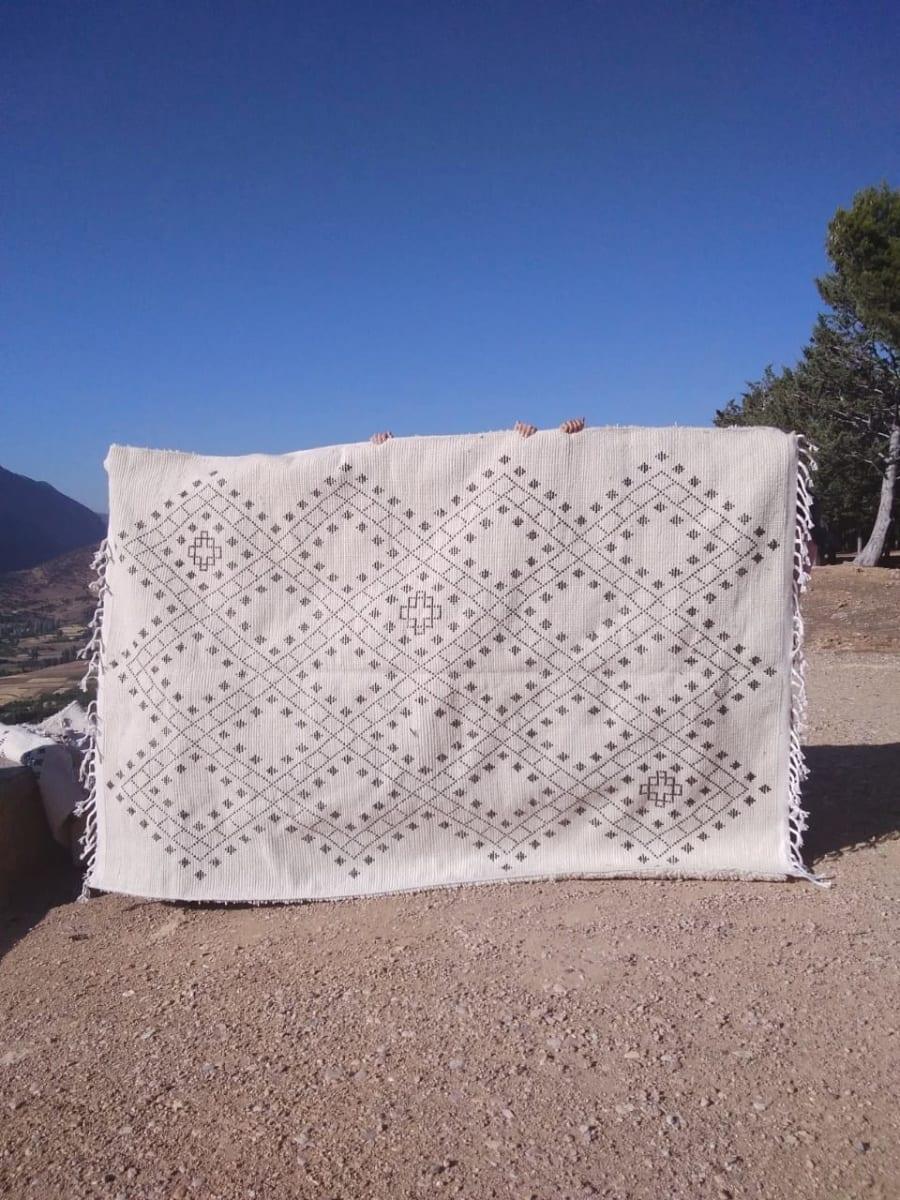 Beni Ourain  Brown, White Morocco
