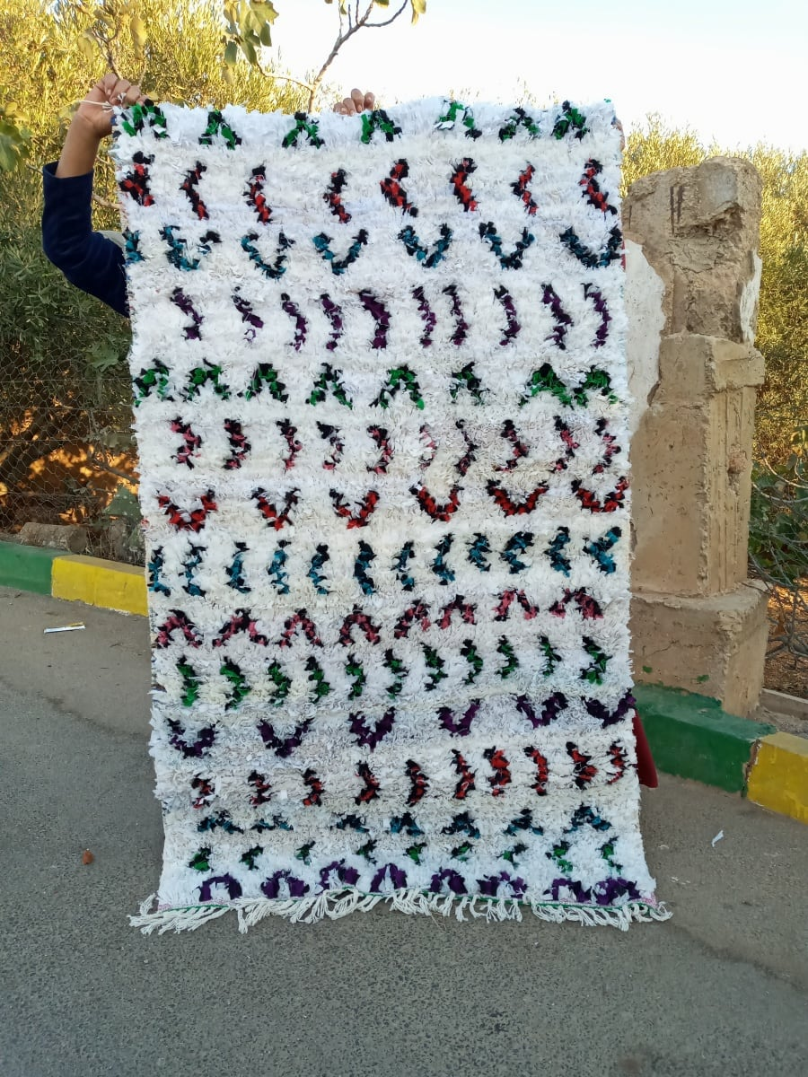 boucherwette . traditional rug   Colored Morocco