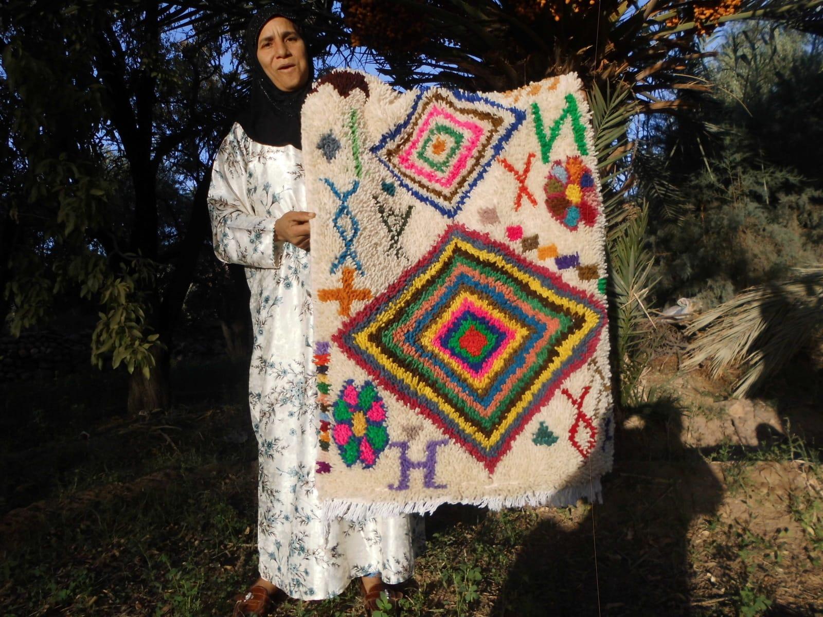 Pile Knot Rug   Morocco