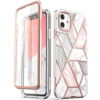 Coque couleur marbre iPhone