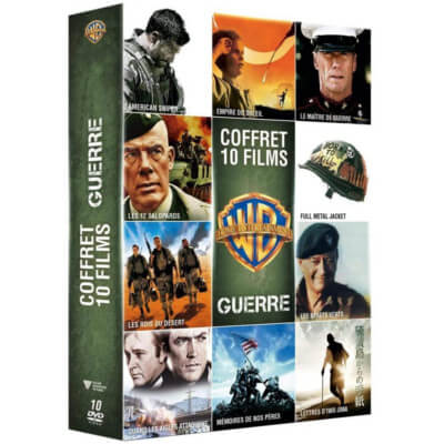 collection dvd films guerre