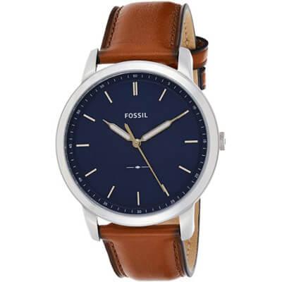 montre pour homme avec bracelet en cuir