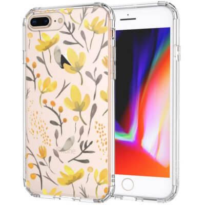 Coque iPhone avec fleurs