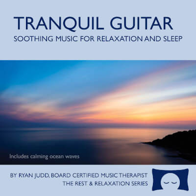 CD musique relaxante guitare ryan judd