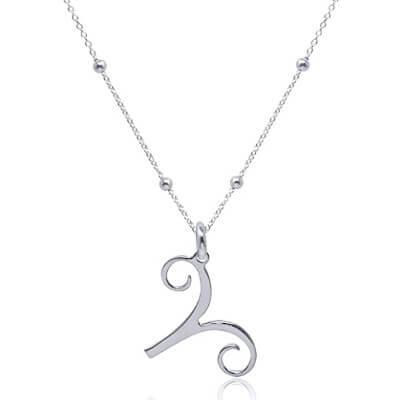 Collier pendentif signe astrologique bélier