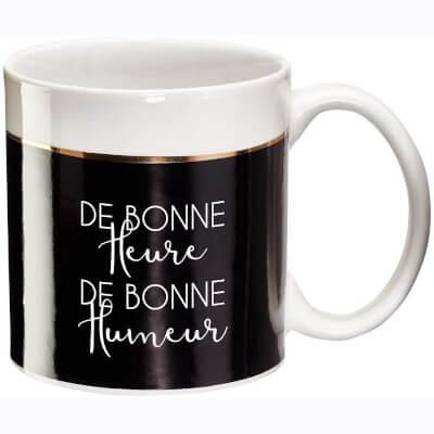 mug avec message