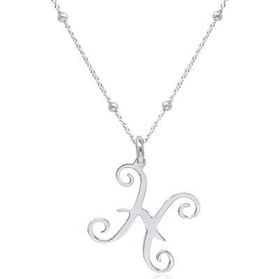 Collier pendentif signe astrologique Poissons