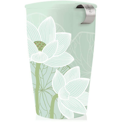 tasse thé lotus