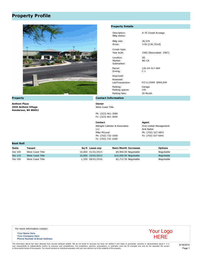 Property profile zvm6qr
