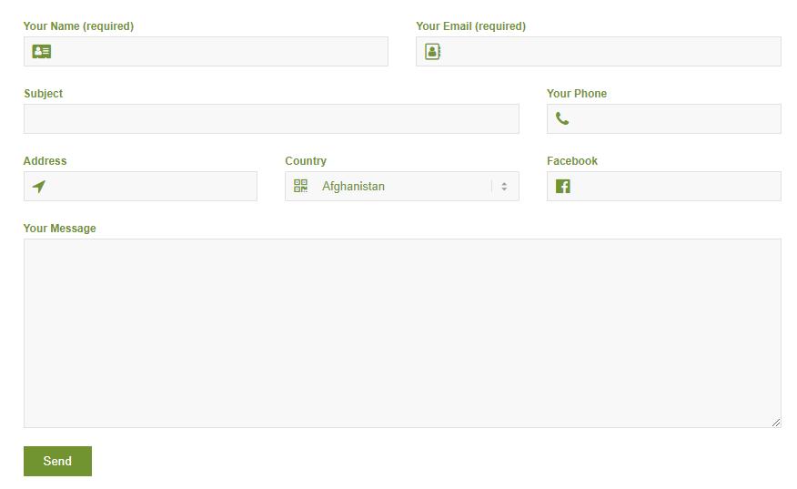 formulario de contato 7 designer