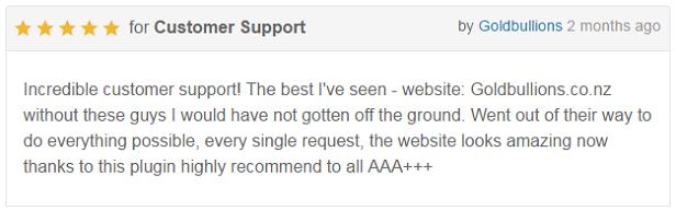 WP Megum Menu Pro - Customer Reviews