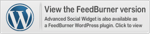 Advanced Social Widget é also available in Feedburner WordPress edition