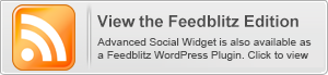 Advanced Social Widget é also available in um Feedblitz WordPress edition