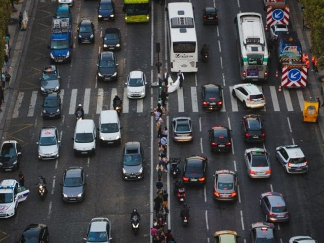 Less Travel, Less Congestion, Less Air Pollution - an Unexpected Upside of the Virus Crisis