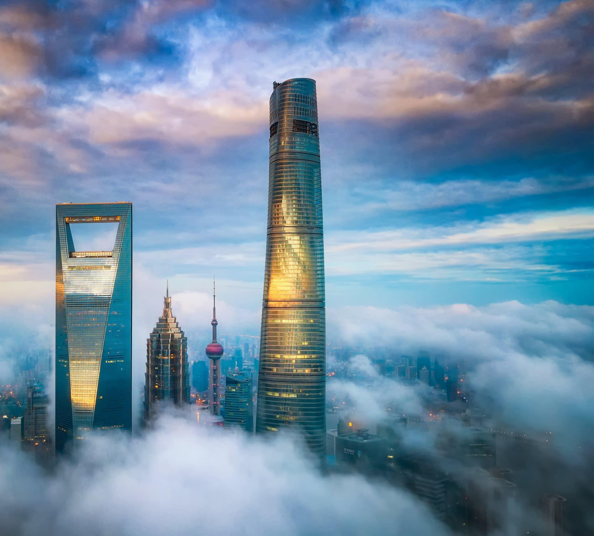 J Hotel Shanghai Tower debuts at the Summit of Shanghai