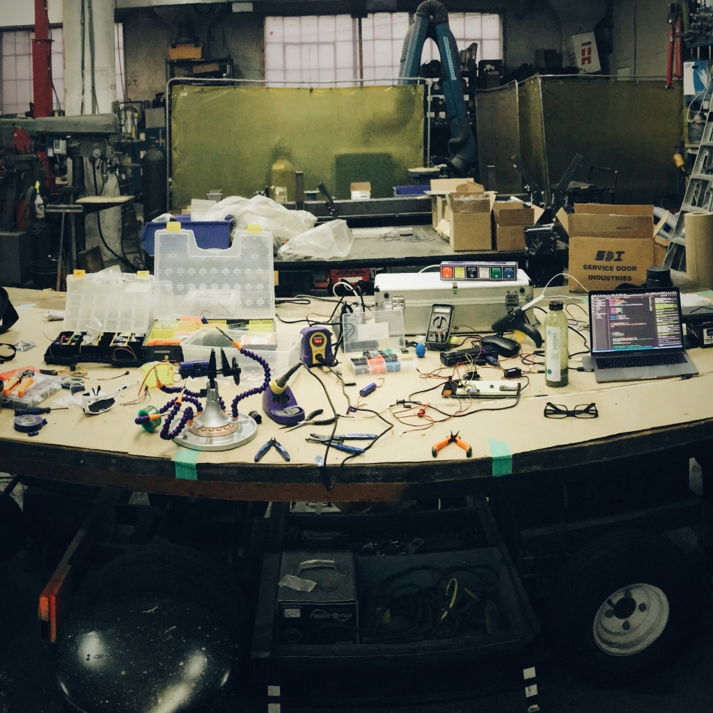 My desk at Performance Solutions!