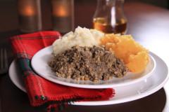 Scotland's most famous cuisine, Haggis