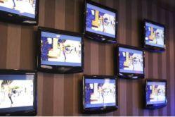 HI New York hostel TV room