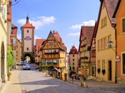 Rothenburg ob der Tauber architecture
