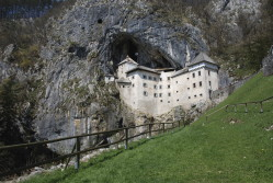 Cave castle in Postojna