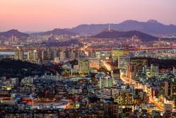 Seoul's impressive skyline