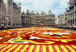 City centre in Brussels
