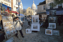 Artist displaying work in Paris