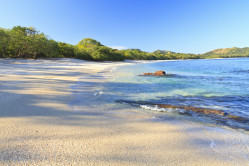 Sandy Costa Rican beach