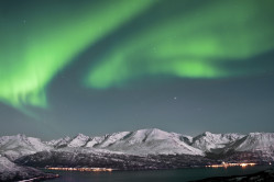 The Northern Lights from Lofoten