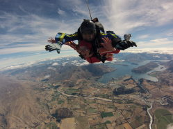 New Zealand skydive
