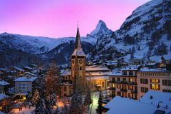 Picturesque Zermatt Village