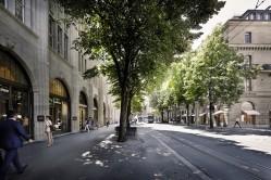 Bahnhofstrasse - Zurich's main downtown street