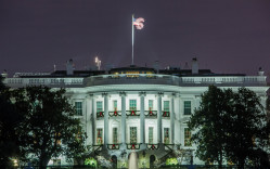 White House, night